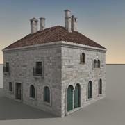 Italian Building 025 3d model
