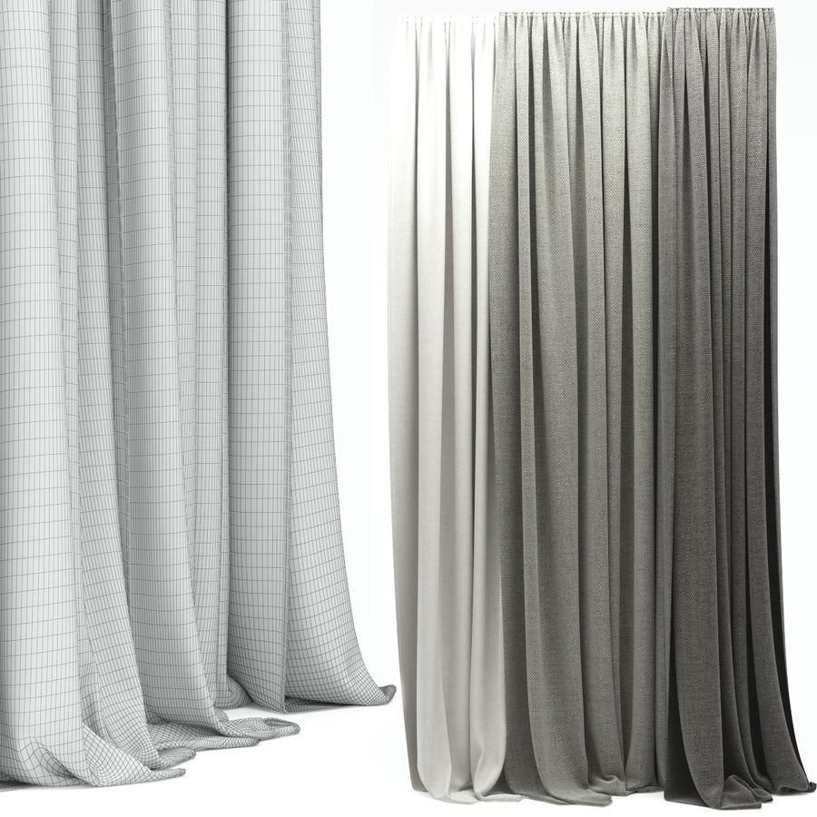 Curtain 3D Model $29 - .obj .max .fbx - Free3D