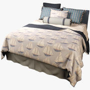 Eastern Accents Mackinaw Bedset 3d model