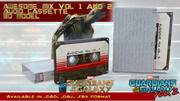 Guardians of the Galaxy awesome mix audio cassette 3D model 3d model