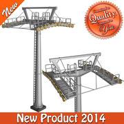 Cableway Large Pillar 3d model