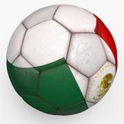 Soccerball pro Mexico 3d model