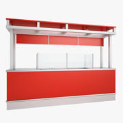 Concessie Stand 01 3d model