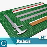 Rulers 3d model