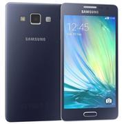 Samsung Glaxy A5 Midnight Black 3d model