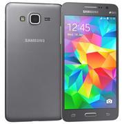 三星Galaxy Grand Prime黑色 3d model