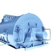 generador de fábrica de alto voltaje modelo 3d