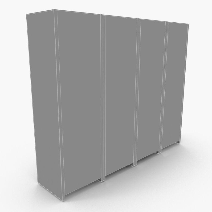 Szafka royalty-free 3d model - Preview no. 9
