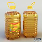Oil bottle 5 liter 3d model