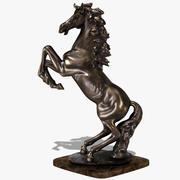 Horse Statuette (2L) 3d model