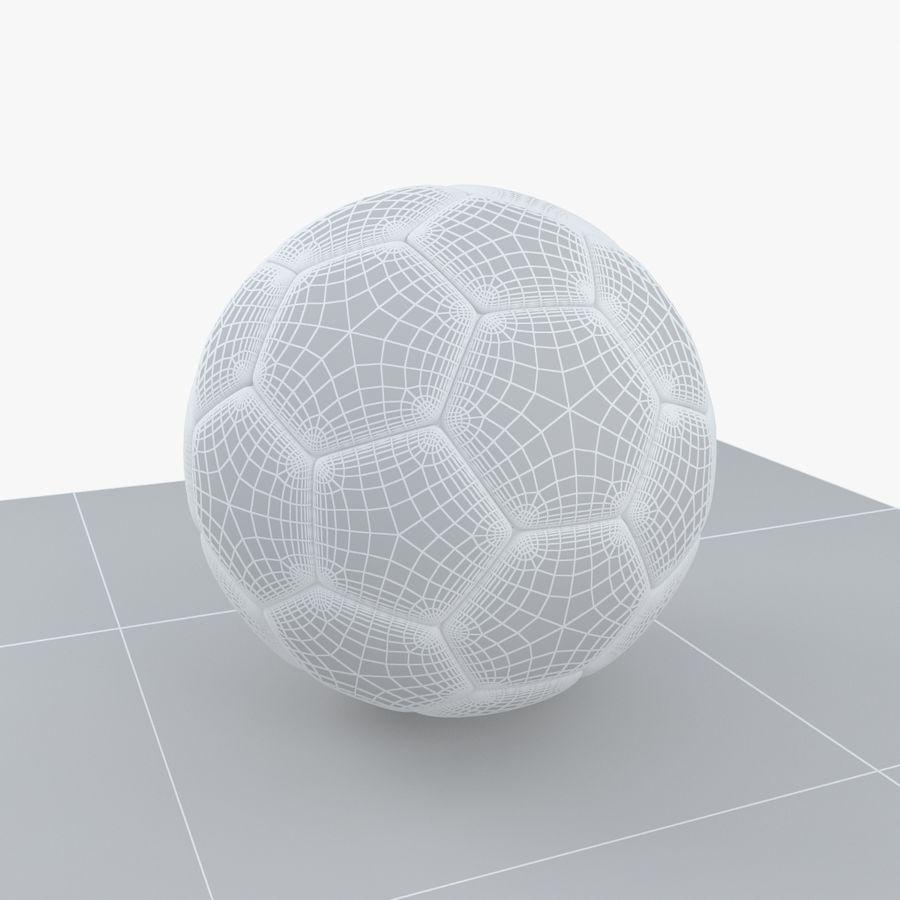 Soccerball Belgique royalty-free 3d model - Preview no. 7