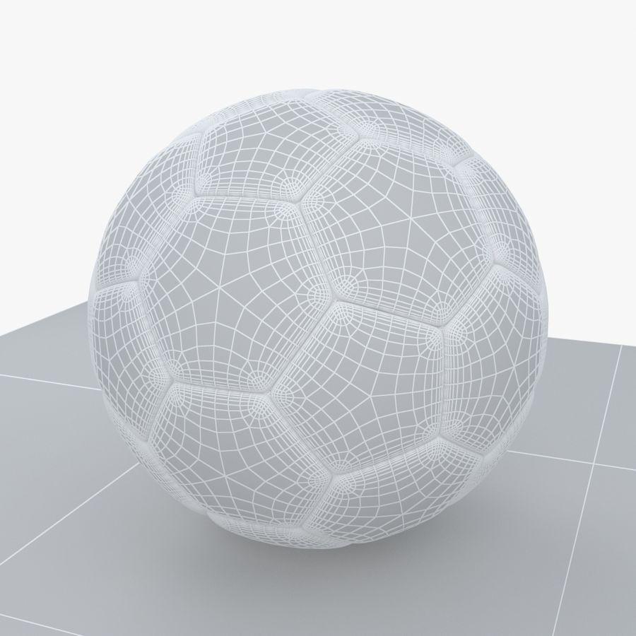 Soccerball Belgique royalty-free 3d model - Preview no. 8