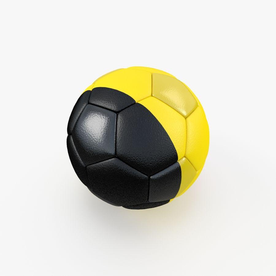 Soccerball Belgique royalty-free 3d model - Preview no. 3