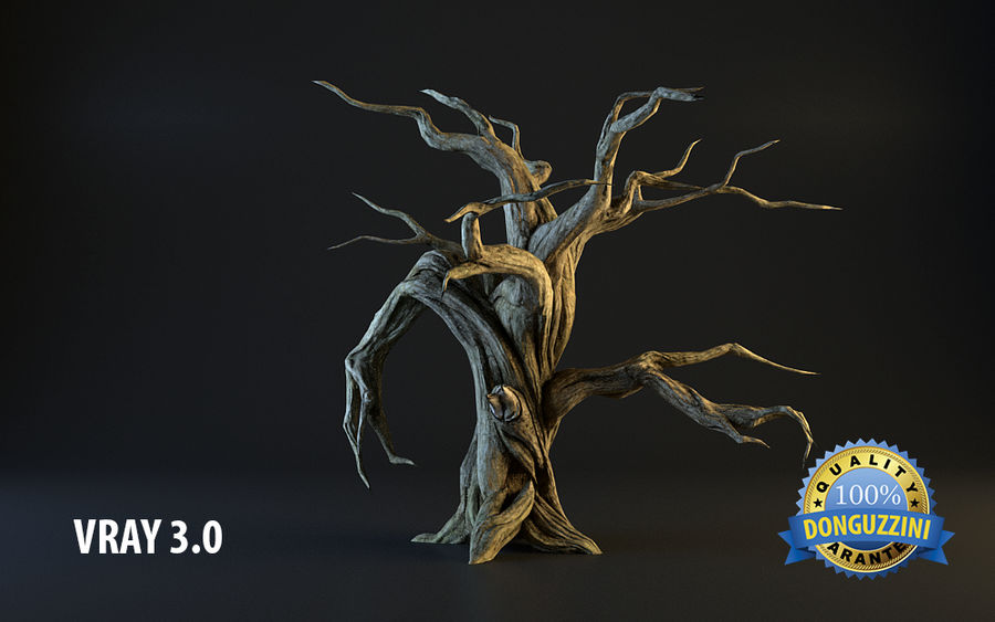 Monster Tree 02 royalty-free 3d model - Preview no. 1