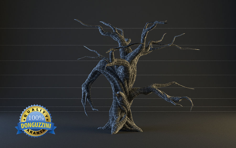 Monster Tree 02 royalty-free 3d model - Preview no. 2