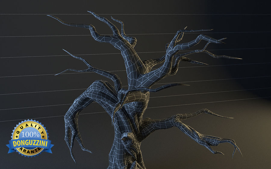 Monster Tree 02 royalty-free 3d model - Preview no. 6