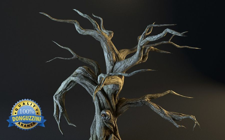 Monster Tree 02 royalty-free 3d model - Preview no. 5