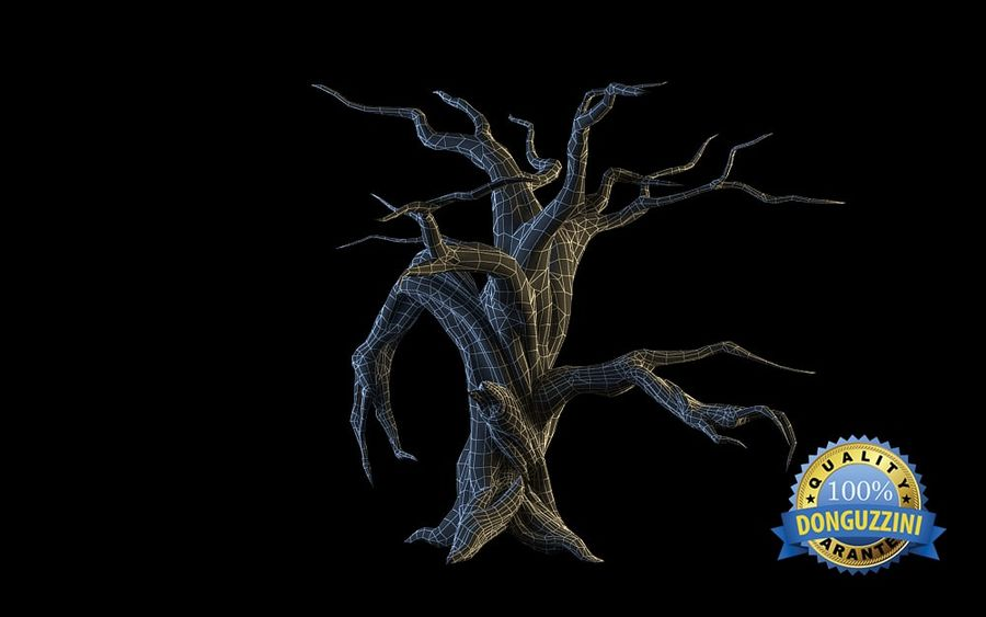 Monster Tree 02 royalty-free 3d model - Preview no. 9