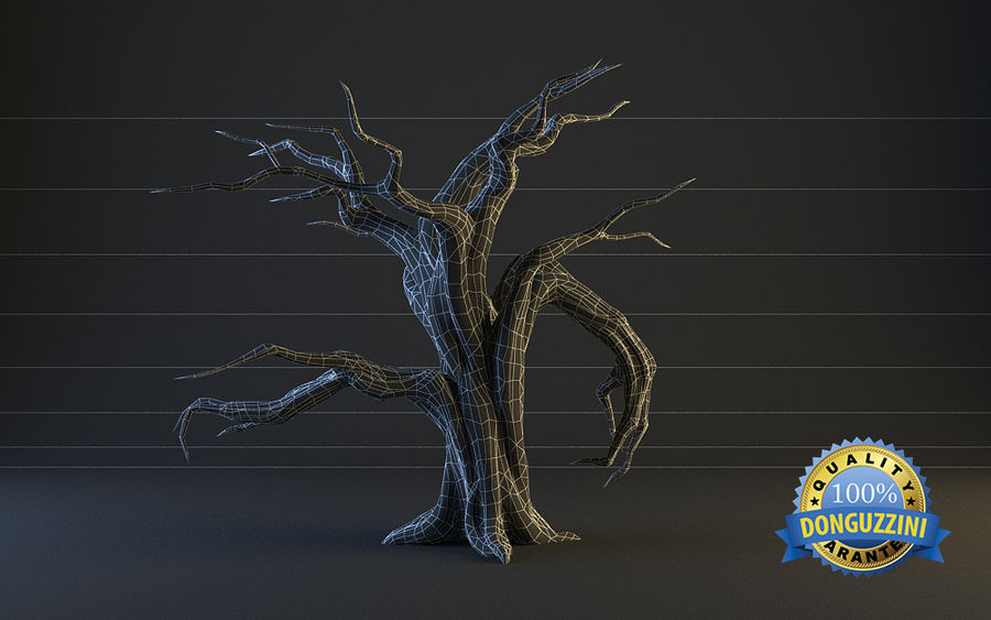 Monster Tree 02 royalty-free 3d model - Preview no. 4