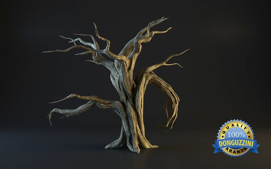 Monster Tree 02 royalty-free 3d model - Preview no. 3