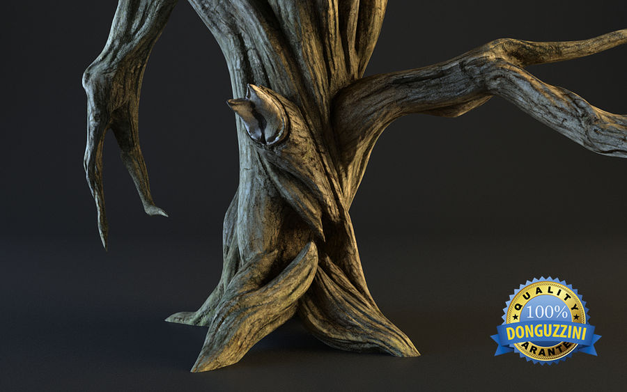 Monster Tree 02 royalty-free 3d model - Preview no. 8