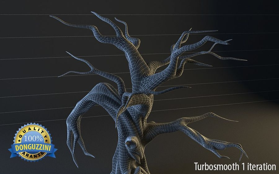Monster Tree 02 royalty-free 3d model - Preview no. 7