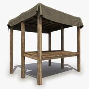Mittelalterlicher Stall 3d model