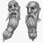 Man with Beard 3 3d model