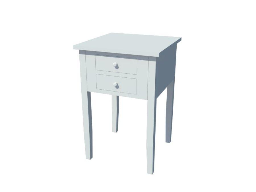 Mesa de cabeceira royalty-free 3d model - Preview no. 2