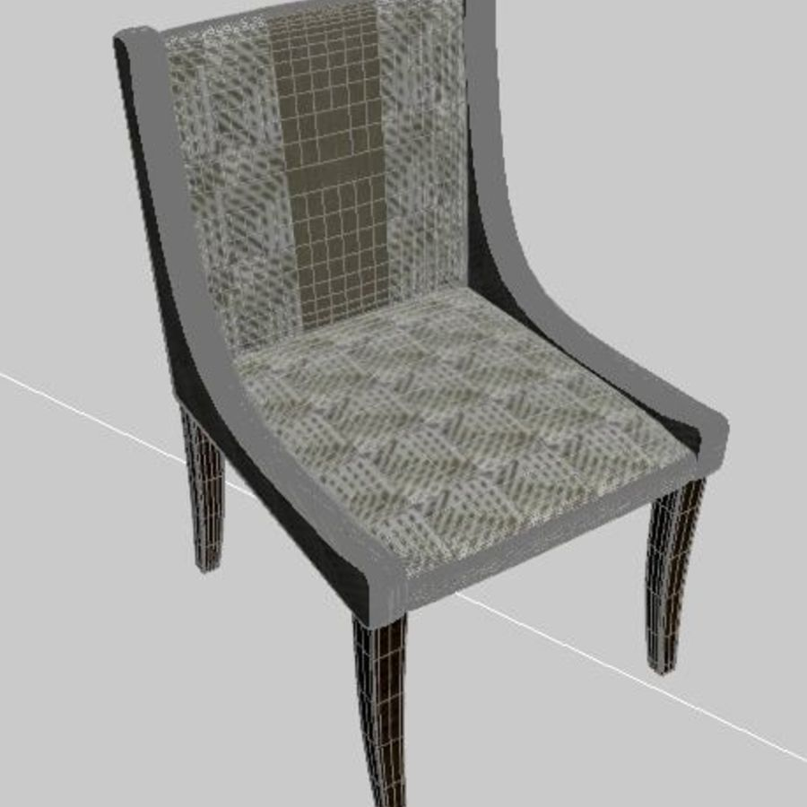 Arm Chair royalty-free 3d model - Preview no. 3