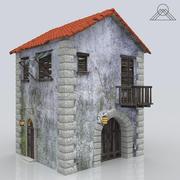Ancien bâtiment de la maison fantôme 3d model