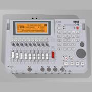 Digital Multitrack Recorder: Korg D12 3d model