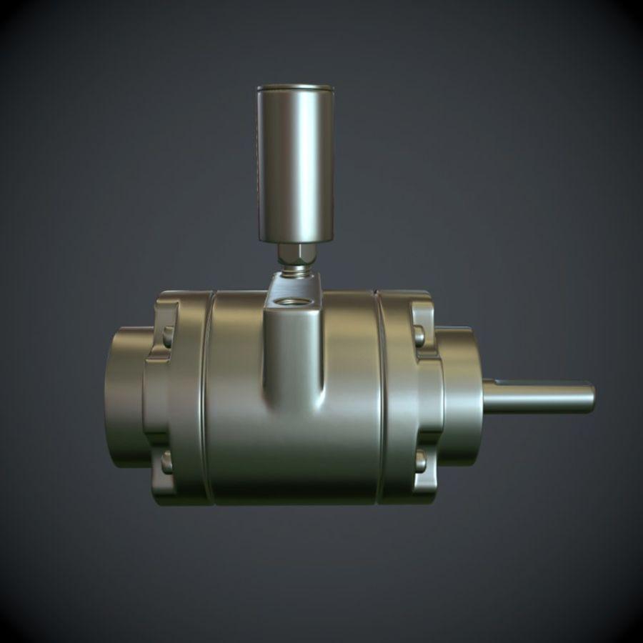 Воздушный мотор royalty-free 3d model - Preview no. 4