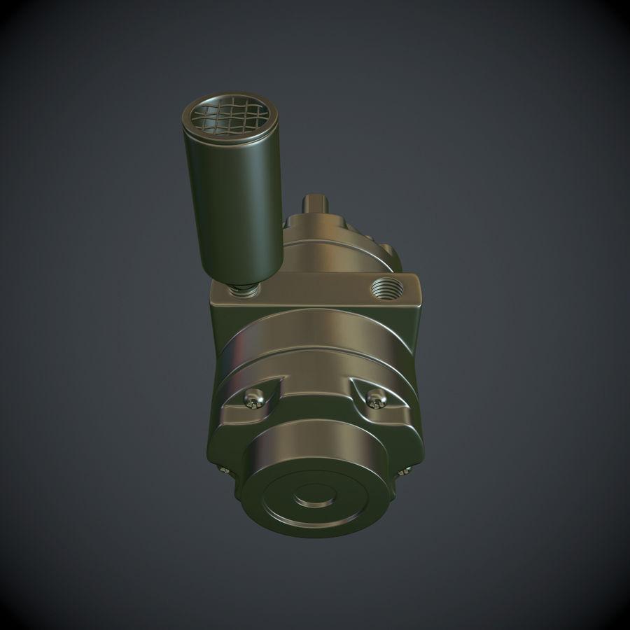 Воздушный мотор royalty-free 3d model - Preview no. 3