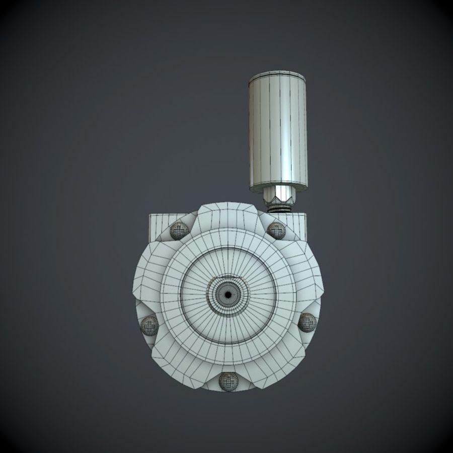 Воздушный мотор royalty-free 3d model - Preview no. 8