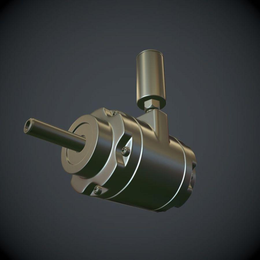 Воздушный мотор royalty-free 3d model - Preview no. 2