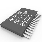 system card 3d model