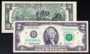 2 US-Dollar 3d model