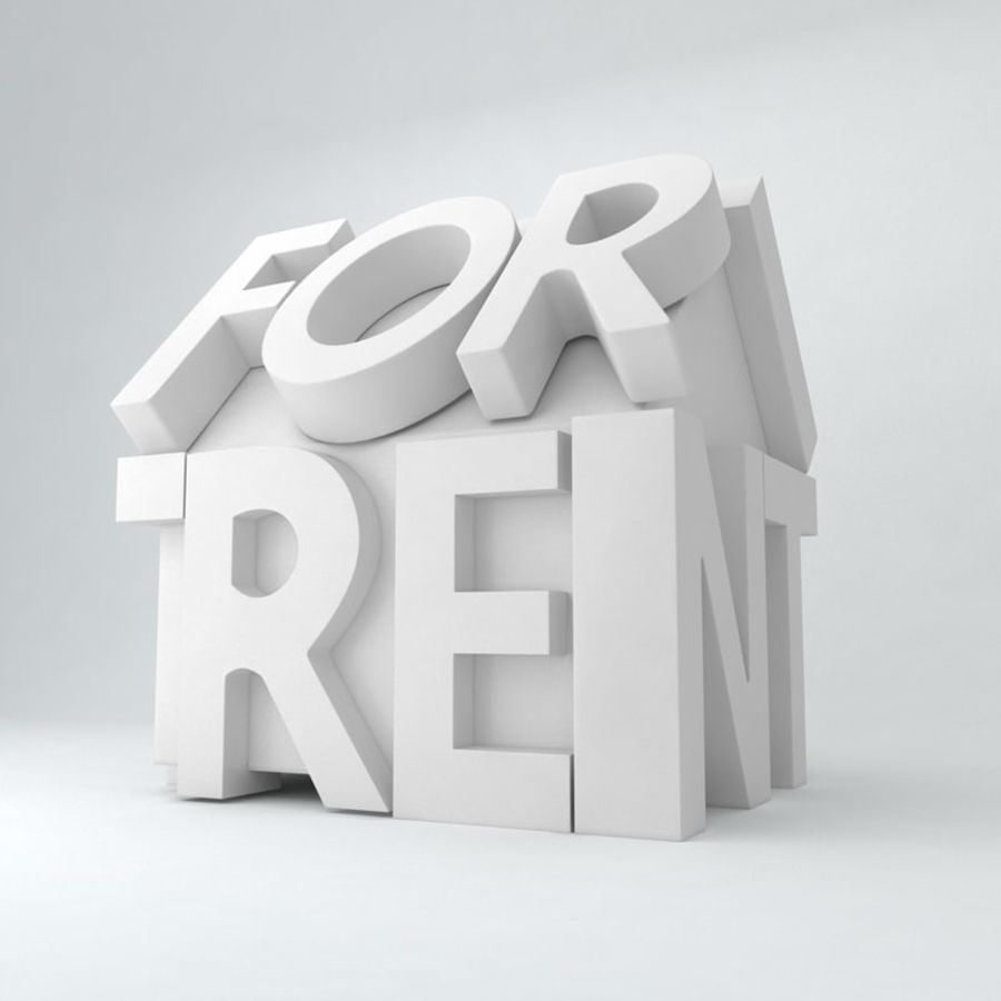 For Rent Icon royalty-free 3d model - Preview no. 5