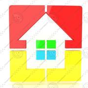 Icono de la casa modelo 3d