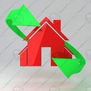Icono de la casa 7 modelo 3d