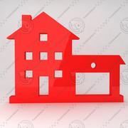 Icono de la casa 10 modelo 3d