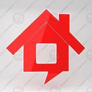 Icono de la casa 13 modelo 3d