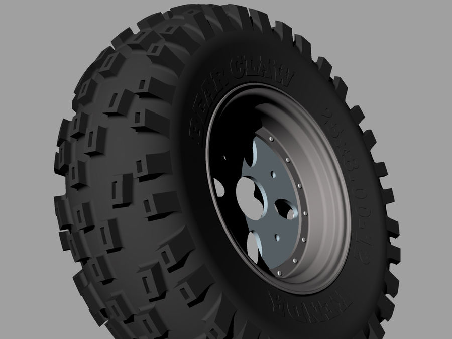Tire royalty-free 3d model - Preview no. 8