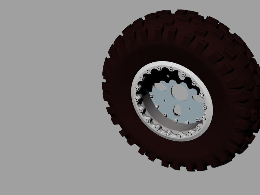 Tire royalty-free 3d model - Preview no. 7