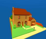 辛普森的家 3d model