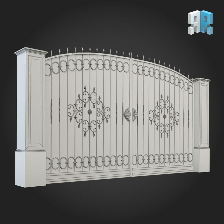 Gate 001 royalty-free 3d model - Preview no. 4