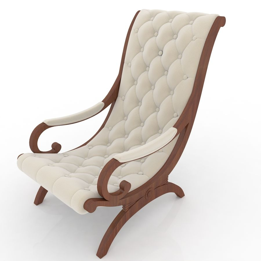 fauteuils royalty-free 3d model - Preview no. 1