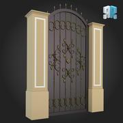Gate 002 3d model