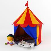 Tendone da circo per bambini 3d model